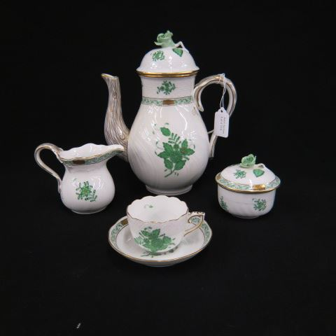 Herend Porcelain Coffee or Tea Service,handpainted,