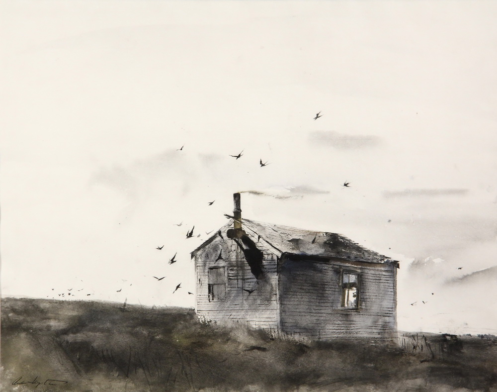 ANDREW NEWELL WYETH (PA/ME, 1917-2009) -