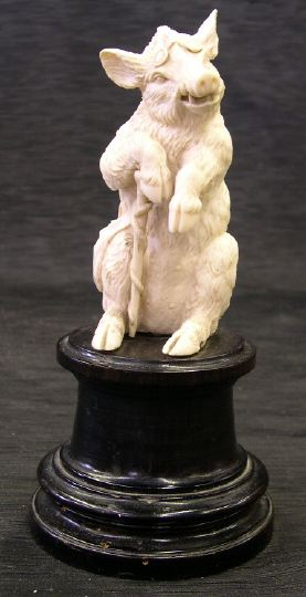 Fine and Amusing German Carved Ivory Figure