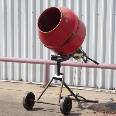 Husky 110lb Electric Cement Mixer Model