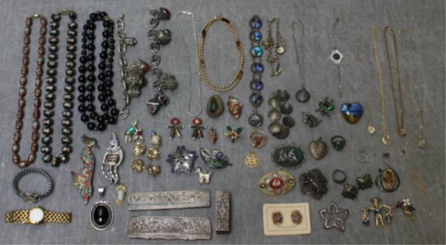 JEWELRY. Large Lot of Costume JewelryIncluding