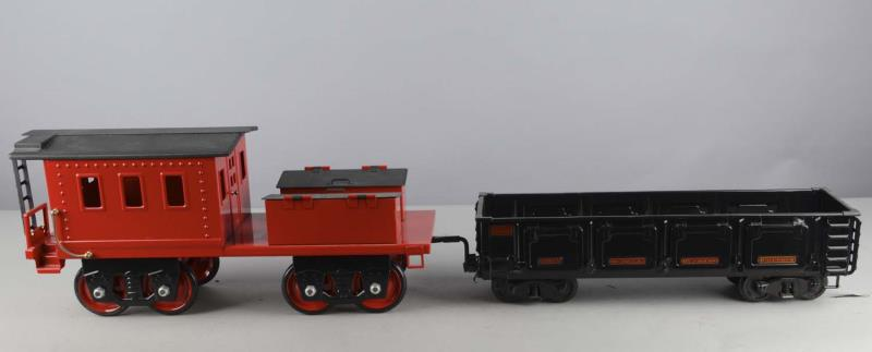 Price guide for Lot Of 2: Pressed Steel Large Scale Train