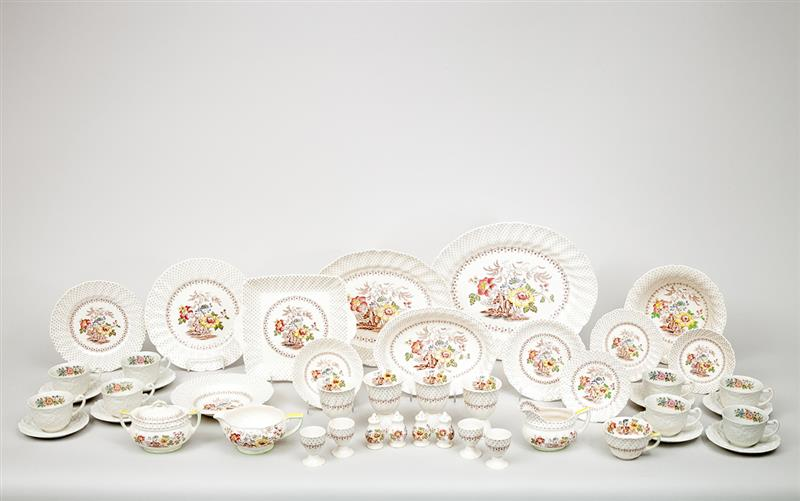 Royal Doulton Transfer-Printed Porcelain