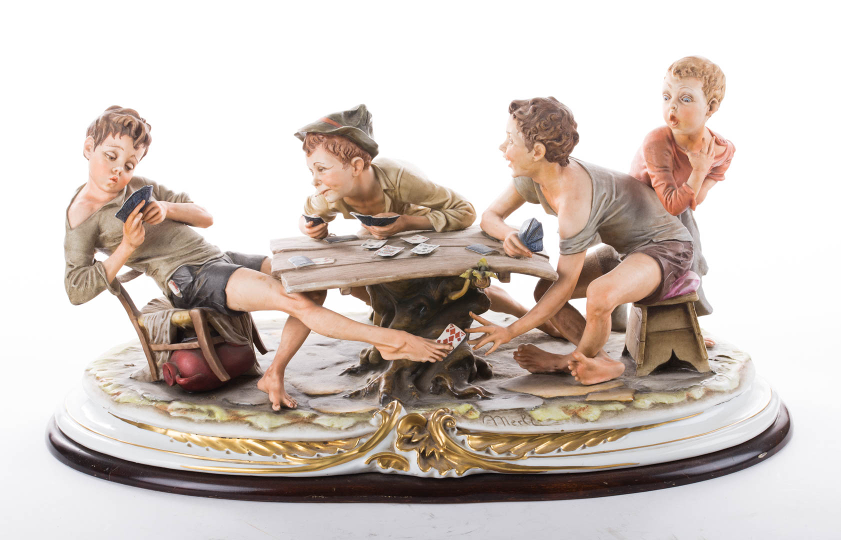 Price guide for capodimonte figural group the cheats by bruno capodimonte figural group the cheats by bruno thecheapjerseys Images