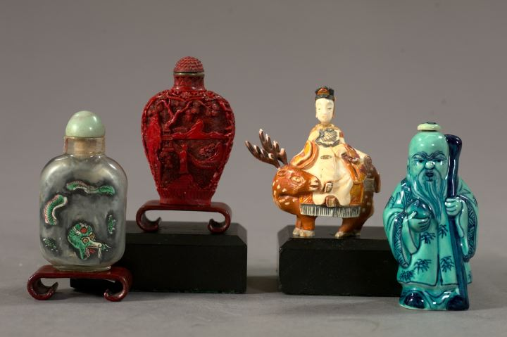 Collection of Four Snuff Bottles,  fourth