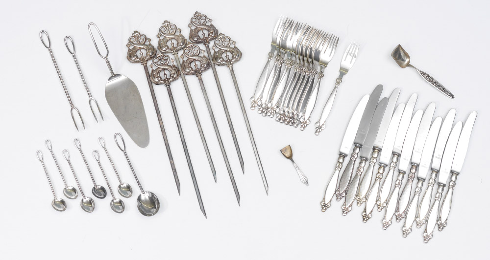Price guide for M. H. WILKENS & SOHNE GERMAN SILVER FLATWARE: