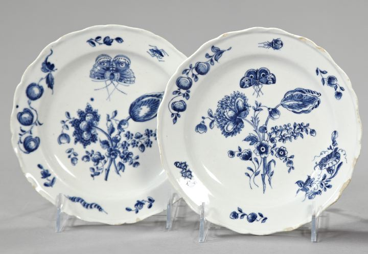 "Pair of Worcester ""Dr. Wall"" Period Porcelain"