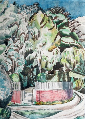 Paul Nash (British, 1889-1946)The Corner,