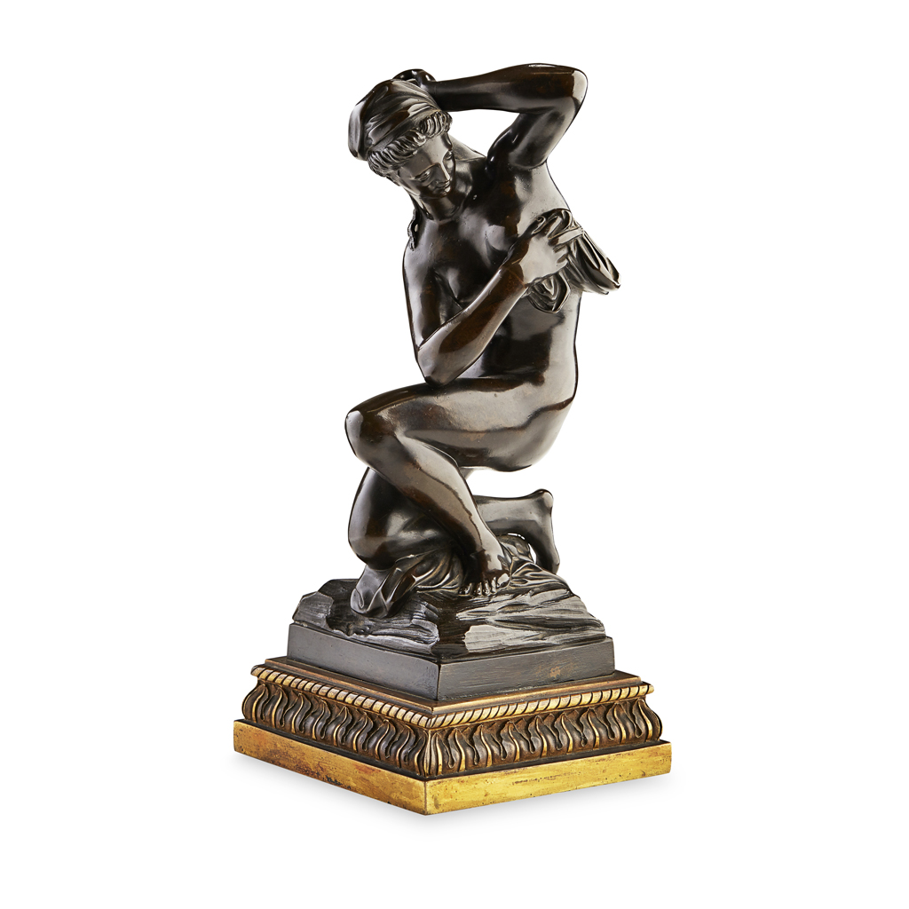 FRENCH BRONZE FIGURE OF 'VENUS AFTER THE