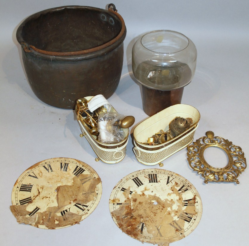 Various metalware, comprising a late 19thC/early