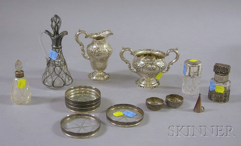Approximately Thirteen Pieces of Sterling