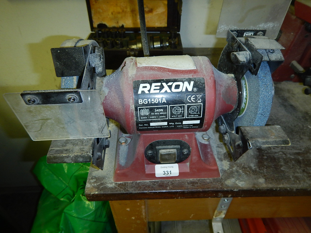 Superb Price Guide For A Rexon Bg1501A 340 Watt Bench Grinder Viewing Caraccident5 Cool Chair Designs And Ideas Caraccident5Info