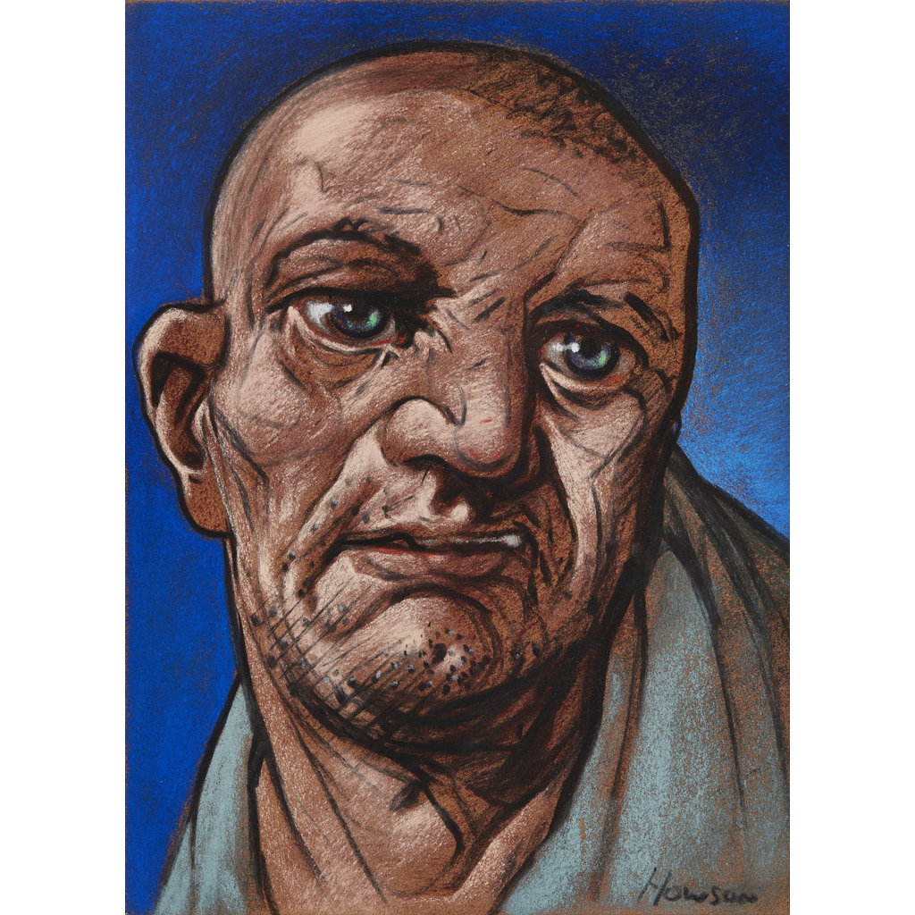 [§] PETER HOWSON (SCOTTISH B.1958)  AHAB