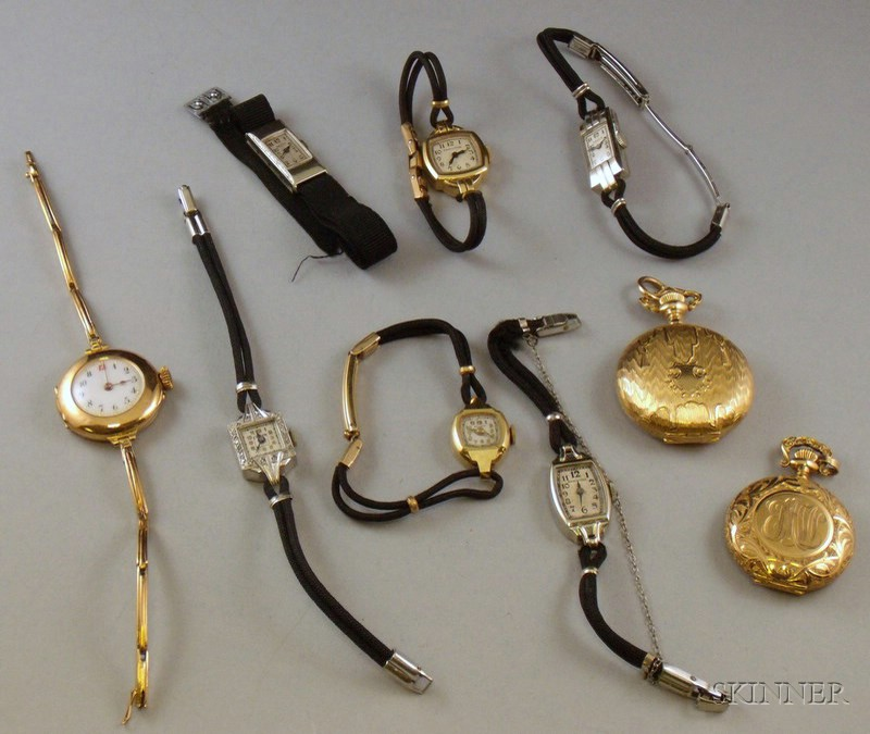 Small Group of Assorted Lady's Wrist and