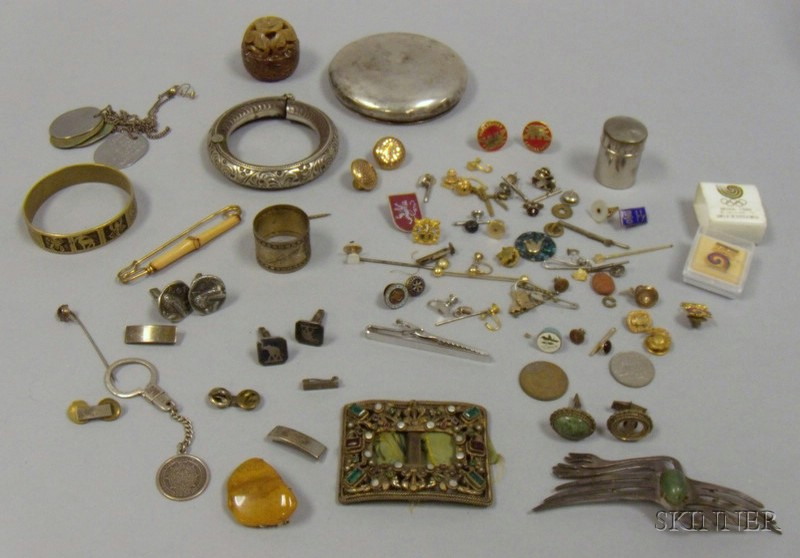 Group of Men's and Lady's Estate Jewelry,