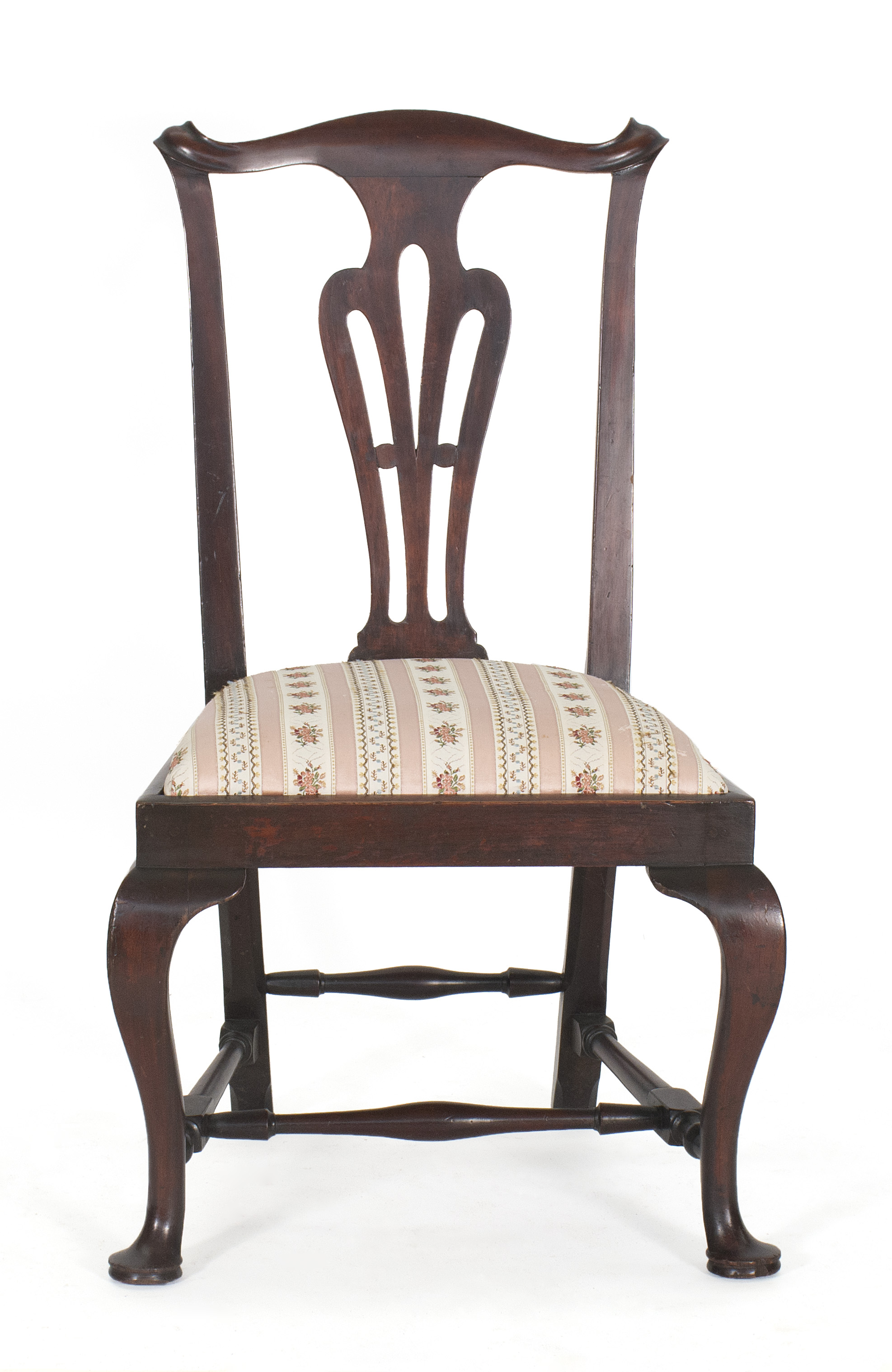 Price guide for ANTIQUE AMERICAN QUEEN ANNE SIDE CHAIR Boston,