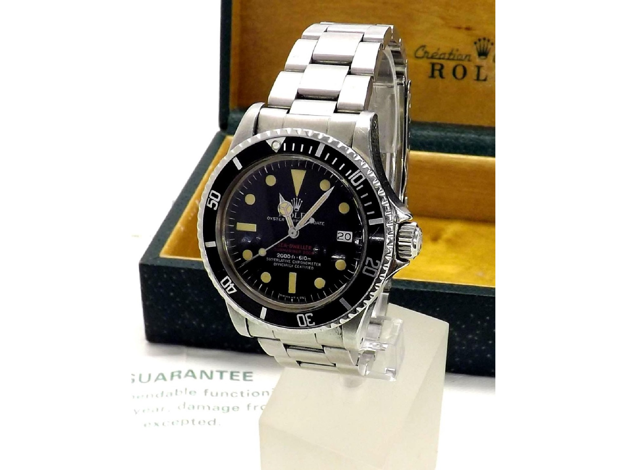 Fine and rare Rolex Oyster Perpetual Sea-Dweller