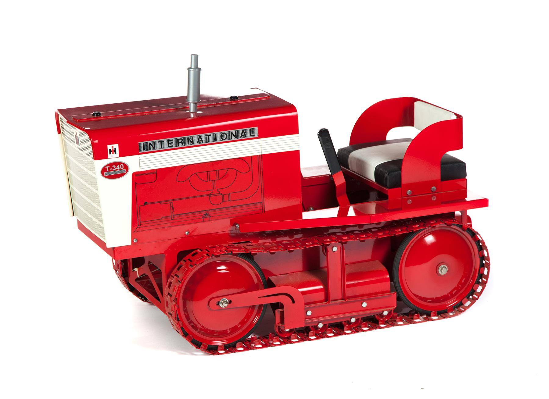 INTERNATIONAL HARVESTER FARM CRAWLER PEDAL