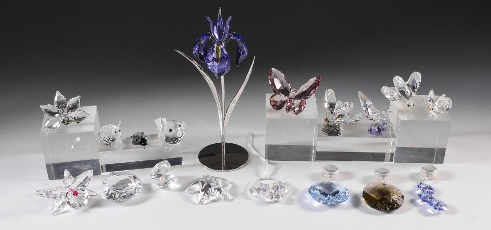 SWAROVSKI CRYSTAL ESTATE COLLECTION:  A mix