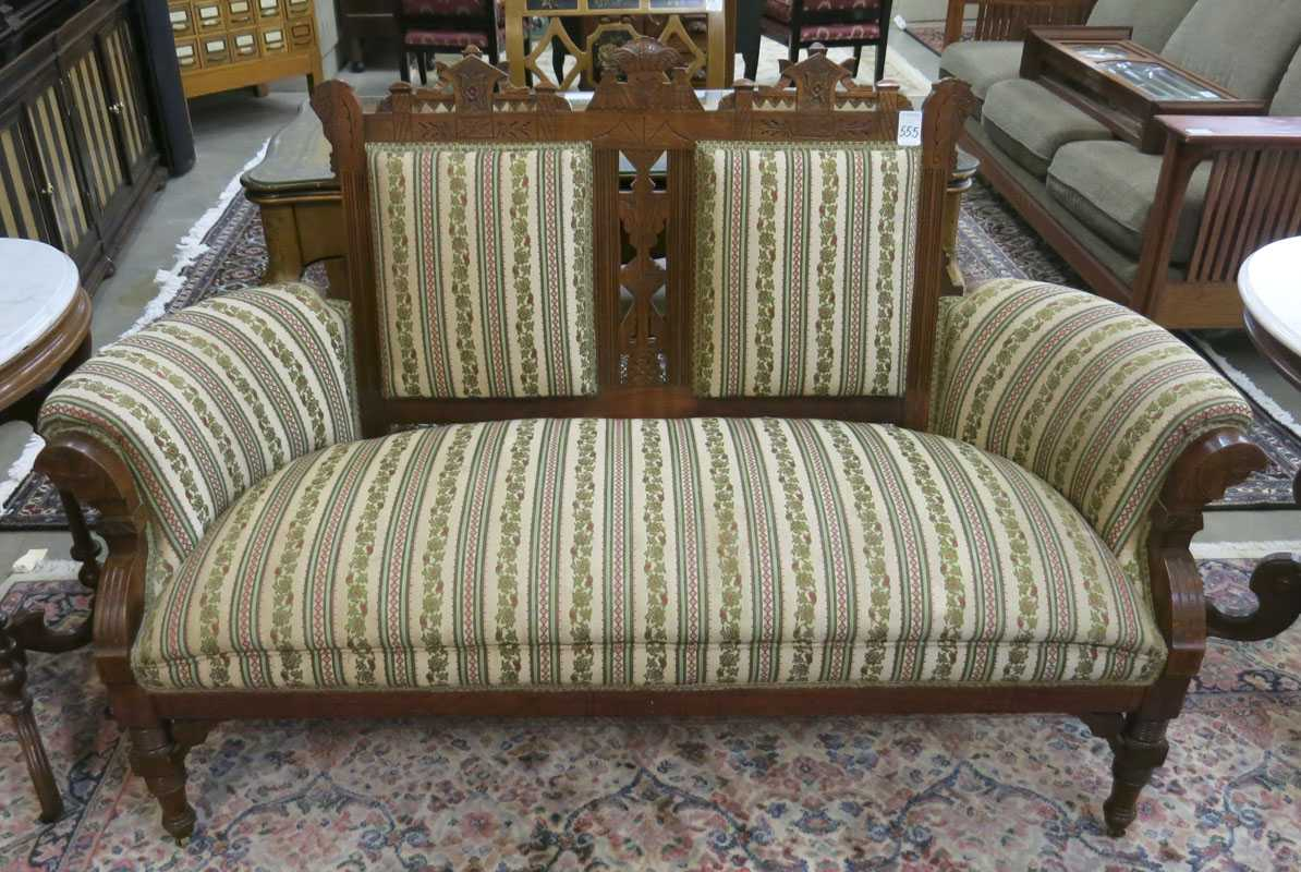 Outstanding Price Guide For A Victorian Settee Charles Eastlake Design Short Links Chair Design For Home Short Linksinfo