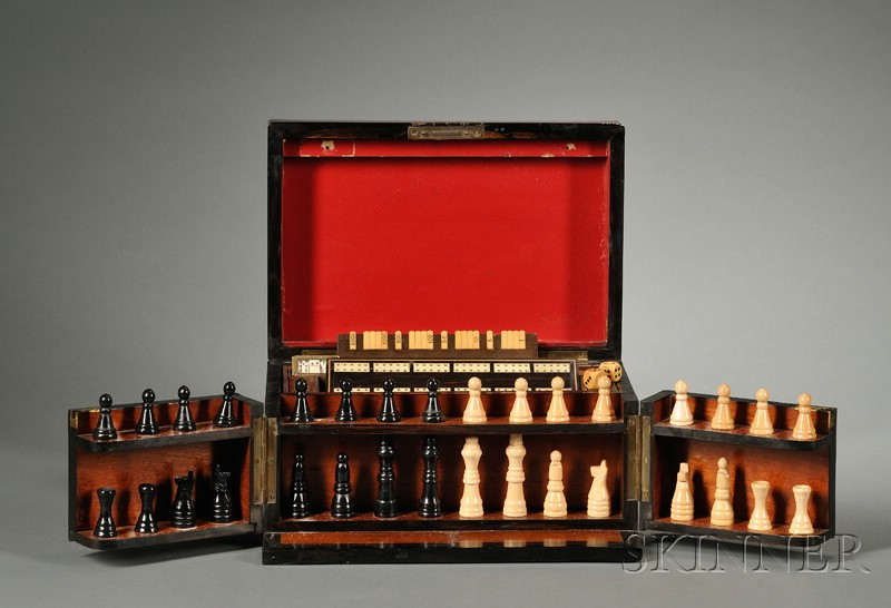 Edwardian Burlwood and Part-ebonized Games