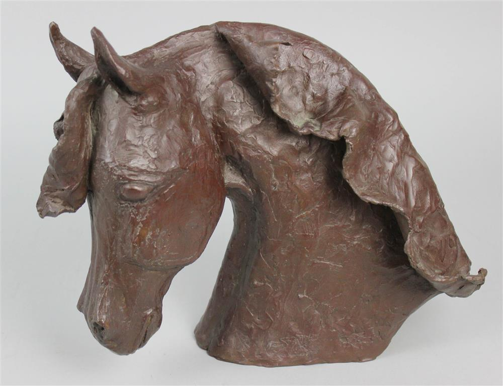 TAUNI DE LESSEPS (FRENCH, 1920-2001) PATINATED
