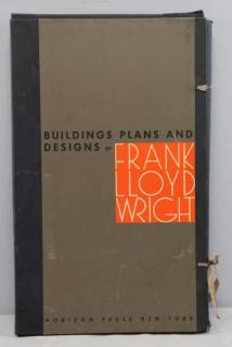 "WRIGHT, Frank Lloyd. Portfolio ""Buildings"