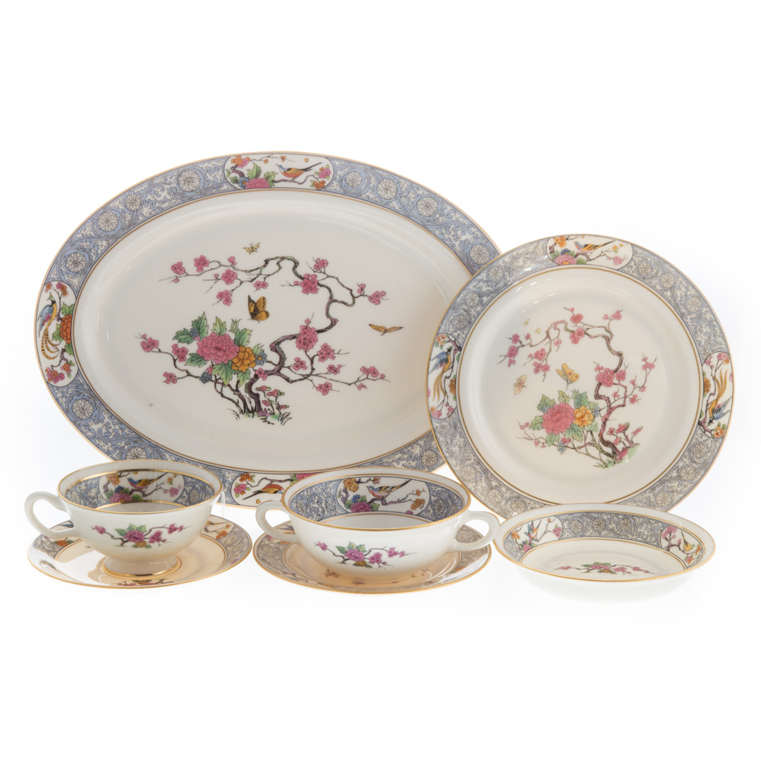 Lenox china partial dinner service in the