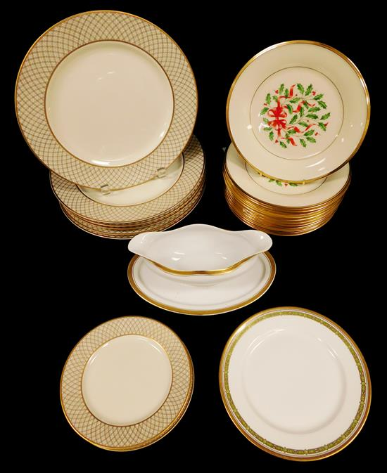 CHINA: Lenox, Limoges, Heinrich & Co., and