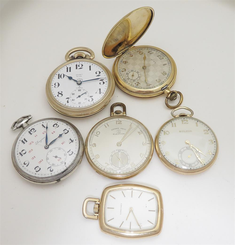 Antique and vintage Swiss pocket watches