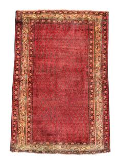 "Hand Woven Persian Mir Area Rug 4' 2"" x 6'"