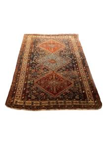 Hand Woven Persian Tribal Rug  Wool. Iran.
