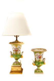"French Limoges ""Porcelaine De Paris"" Lamp"