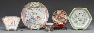 Grouping of Chinese Export Porcelain, 5 pcs.