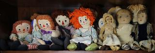 Antique and vintage cloth dolls including