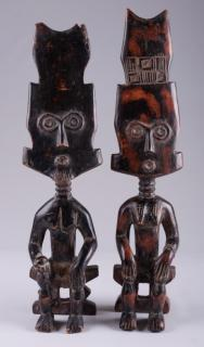 Fante Fertility Dolls from Ghana, Two (2)