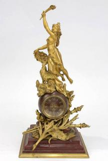 French Neoclassical style gilt bronze and