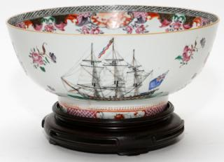 CHINESE EXPORT PORCELAIN BOWL  CHINESE EXPORT
