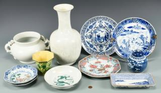 11 Assorted Chinese Porcelain Items  1st