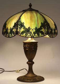 Arts and Crafts Handel / Miller table lamp