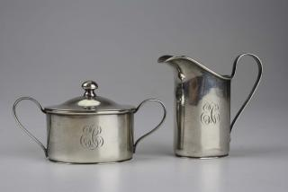 Early 20th c sterling silver Arts & Crafts