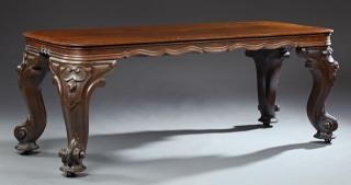 "American Rosewood ""Piano"" Table, 19th c."