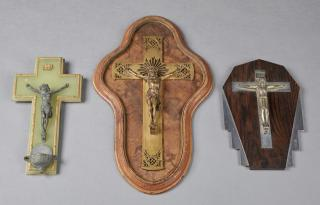 Group of Three Religious Items, early 20th