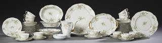 Sixty-Four Piece Set of Theodore Haviland