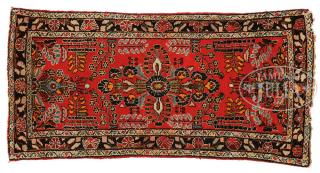GROUP OF FOUR SMALL ORIENTAL RUGS. Northwest