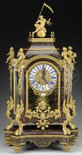 IMPORTANT ROCOCO REVIVAL BOULLE MARQUETRY