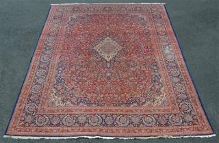 Center Medallion Oriental Room Size Rug.