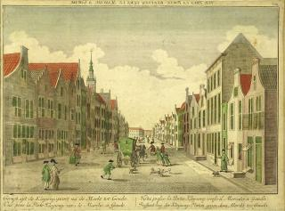 17/18th Century Dutch Hand Colored Engraving