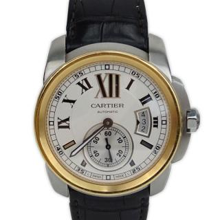 Man's Cartier Calibre 3299 Stainless Steel