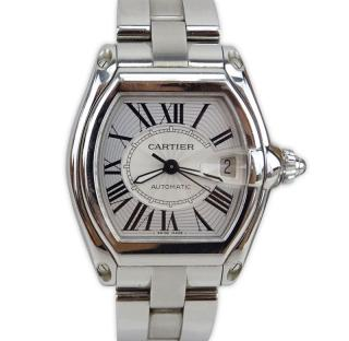 Man's Cartier Roadster 2510 Stainless Steel
